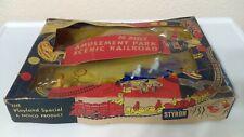 1950 Nosco Playland Special Mechanical Amusement Park Scenic Railroad Set MIB