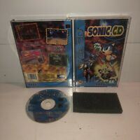 Sonic CD Sega CD SCD, COMPLETE Tested & Working! Fun Hedgehog CIB HTF