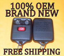 NEW 100% OEM FORD EXPLORER SPORT TRAC EXPEDITION 00 EXCURSION KEYLESS REMOTE FOB