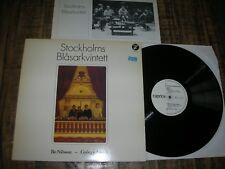 György LIGETI / Bo NILSSON - STOCKHOLM WIND QUINTET  rare LP VINYL SE´81 NM
