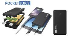 Pocket Juice Portable Mobile Power Bank 12000mAh External Battery Charger