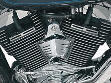 2107-0013 Harley Hupen Cover V-Shield Chrome  für 91-17 Twin Cam XL Motoren