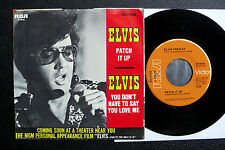 "7"" Elvis Presley - You Don't Have To Say You Love Me - USA RCA w/ Pic"