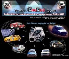 Compresseur G60 lader Supercharger d origine et révisé avec garantie plombés