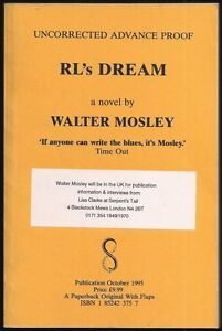 Walter Mosley - RL's Dream - Uncorrected Proof (1995 Serpent's Tail ARC)