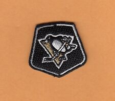 PITTSBURGH PENGUINS Small SHIELD PATCH HAT POLO SHIRT IRON or SEW ON UnsoldStock