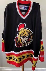 VINTAGE  NHL OTTAWA SENATORS CCM HOCKEY JERSEY MENS Size XL / XXL