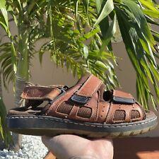 Earth Shoe Mens Highlander Leather Sandals Sports Sandals EUC Size 11