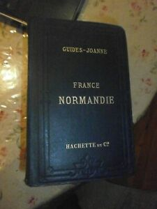 Guides Joanne France Normandie 1887 7 cartes & 18 plans
