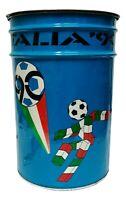pouff puff bidone da collezione mondiali calcio italia 90