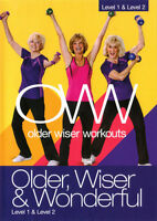 Older Wiser & Wonderful: Level 1 & 2 With Sue (2014, DVD New)
