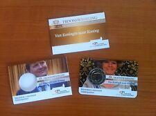 (M-22) 2€ Van Koningin naar Koning 2013 -coincard (met miniboekje en hoesje)
