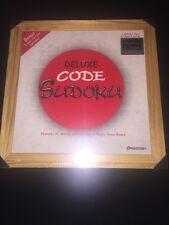 Pressman Toy Deluxe Code Sudoku with Bonus Travel Version