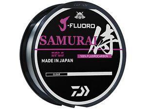 Daiwa J-Fluoro Samurai Bulk Spools 1000yd (Select Size) JFP-1000