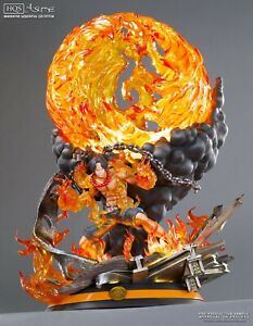 One Piece Portgas D Ace Resin Statue by Tsume NEW SEALED