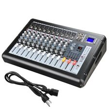 Professional 10 Channel Mixer Power USB System Amplifier Amp 16DSP