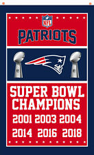 New England Patriots Champions Memorable flag 90x150cm 3x5ft best team banner A5