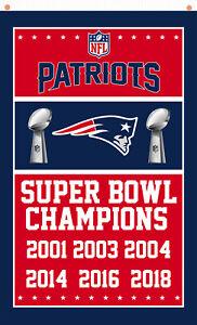 New England Patriots Champions Memorable Flag 90x150cm 3x5ft best team banner