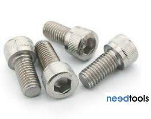 100 Pack M8x50mm Socket Head Cap Screw Stainless Steel 304 Grade So