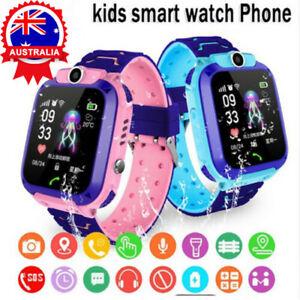 2020 Kids Tracker Smart Watch Phone LBS Locator + Camera SOS Call Boys Girls AUS