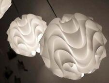 Lámpara Colgante Moderno 172 para le Klint Sombra De Plástico Blanco Iluminación Lámpara De Pvc L25