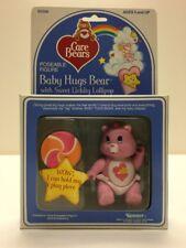 Baby Hugs Bear w/ Sweet Lickity Lollipop Care Bears Vintage Poseable Figure MIB