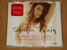 SHANIA TWAIN - Thank You Baby! - 4 track CD single (inc CD-ROM video)