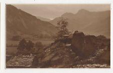 Langdale Pikes Vintage Postcard 298a