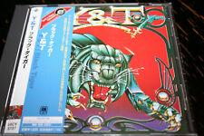 Y&T Black tiger !!!! UNIVERSAL REC JAPAN OBI MUSSSS