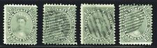 1859-64 Canada SC#18,18a,18i,18ii First Cents Issue-Queen Victoria-LCU26-Used