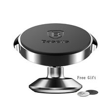 Universal 360 Degree Magnetic Car Phone Holder for iPhone 7 6G Metal Mount Stand