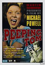 Peeping Tom Michael Powell vintage movie poster