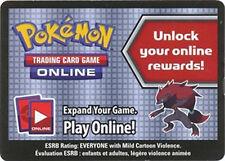 Pokemon Zoroark World Collection Box Promo Code Card for Pokemon TCG Online