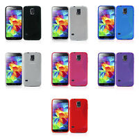 FOR SAMSUNG GALAXY S5 TPU S-LINE SILICONE GEL IN VARIOUS COLOUR CASE COVER