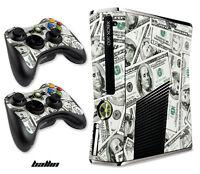 Skin Decal Wrap for Xbox 360 Slim Gaming Console & Controller Xbox360 Slim BALLN