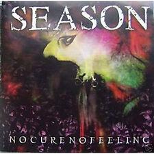 SEASON - Nocurenofeeling CD (Wild Rags, 1997)  *rare OOP