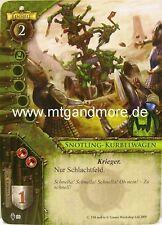 Warhammer Invasion - 1x Snotling-Kurbelwagen  #090