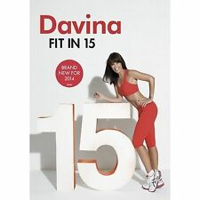 DAVINA FIT IN 15 DVD Exercise Fitness Workout Original UK Release R2 New Sealed