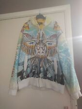 Hoodie zip up Ed Hardy Christian Audigier size XL mens womens