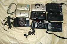 35mm film 9 camera lot - various models (olympus, Canon, Kodak, etc)