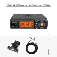 Zastone Walkie Talkie VHF UHF Mini Radio HF Transceiver Two Way CB Ham Radio