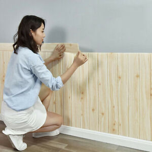 New 3D Tile Brick Ceiling Panel Foam Wall Sticker Self Adhesive Wallpaper