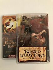 Peter Pumpkin Eater McFarlane's Monsters Twisted Fairy Tales New In Box.