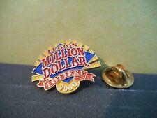 Royal Canadian Legion Lapel Pin,Million Dollar Lottery 2000