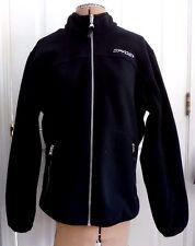 SPYDER  Black Full Zip Fleece Women's Jacket Size 14