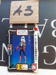 4 cards kinnikuman muscleman kinikuman