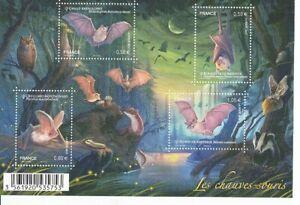 France Block 220 Bats (MNH)