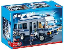 Playmobil 4023 POLICE VAN Vehicle with Police Officers - FAST & FREE Dispatch