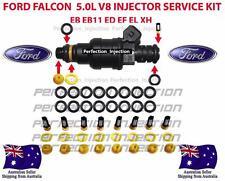 INJECTOR SERVICE KIT FORD FALCON 5.0L V8 EB ED EF EL XH SERVICES 8 INJECTORS