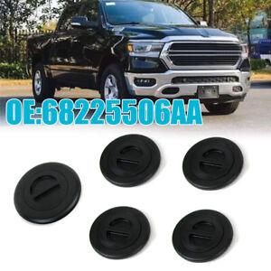For 2014-2019 Ram 2500 3500 5th Wheel/Gooseneck Bed Plug Cover Kits OEM